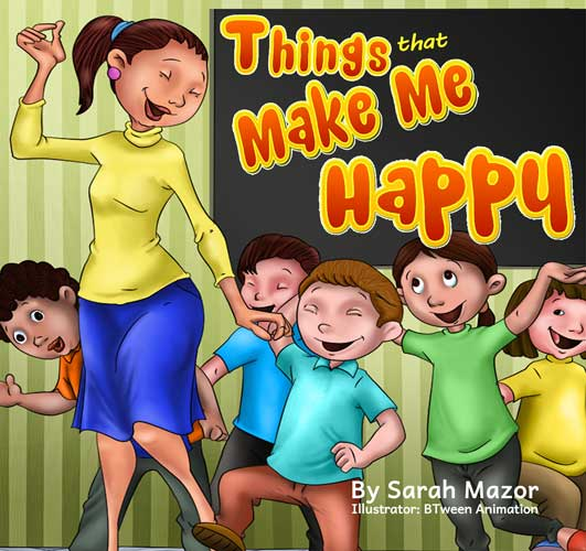 Things that Make Me Happy Children's Bedtime Story Picture Book